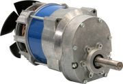 Single-phase induction motors with helical gearbox J26VW